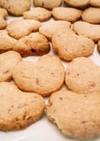 生いちごのクッキー