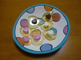 簡単失敗ナシのチョコ入りキャンディー