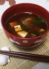 生姜の魔法♪お魚でお味噌汁
