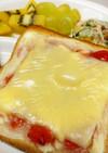 Wチーズでジャムトースト♪