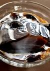糖質オフの粉寒天コーヒーゼリー