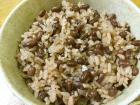 炊飯器で簡単✨もち米無し小豆たっぷり赤飯