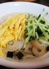 松茸のお吸い物deぶっかけ素麺