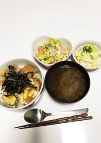 仙台麩の卵とじ丼