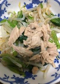 超簡単♪お弁当に!小松菜のツナマヨ醤油