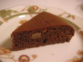 カンタン☆炊飯器チョコケーキ