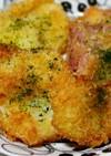 新玉葱とベーコンフライ