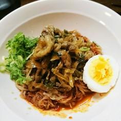 スタミナ満点☆牛肉プルコギのっけ冷麺☆
