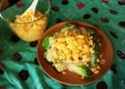 炒り卵とアボカドサラダ☆マヨわさびソース