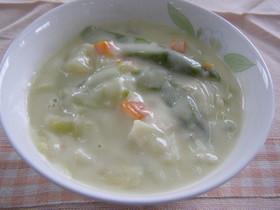 学校給食 春野菜のクリーム煮