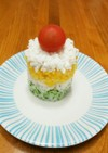 【覚書】お誕生日♡ライスケーキ(離乳食)