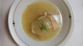 簡単☆新玉ねぎの丸ごとスープ