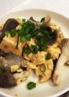 簡単。シンプルな平茸と卵の中華炒め