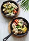 【下味冷凍】めかじき&野菜のオーブン焼き