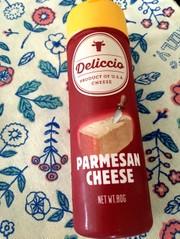 粉チーズは冷凍で長持ち〜!!の写真