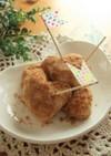 揚げパン風 揚げ焼き豆腐ドーナツ