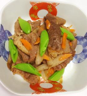 牛肉とゴボウの煮物