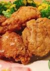 ヨーグルトでお肉柔らか♡鶏もも肉の唐揚げ