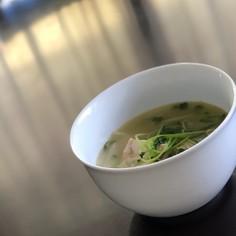 体に優しいめかじきを食べるスープ