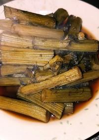 アザミ(山菜)の煮物