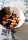 炊飯器と水筒で簡単に大豆煮