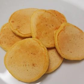 離乳食中期~幼児食コーン入りパンケーキ