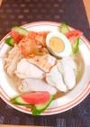 胸肉✤ヘルシ~韓国風冷麺✤⇒クッパ風まで