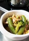 ボリューミー!ハムと野菜の和風卵スープ