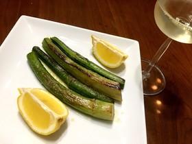 ☆ワインに合う☆ウドのガーリックソテー