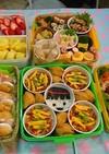 運動会☆カップちらし寿司☆サンドイッチ
