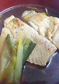 中華風とり蕎麦