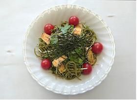 【京田辺発】茶そばの和風サラダ