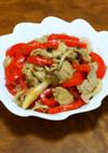 マリネ風★豚肉とパプリカのさっぱり酢炒め
