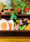 ベーコンカボチャの春慶お弁当