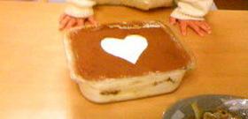 クリームチーズでおいしいティラミス☆