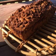 美容にも♡黒糖くるみのパウンドケーキ