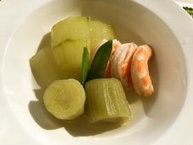 夏野菜の冷やし煮もの