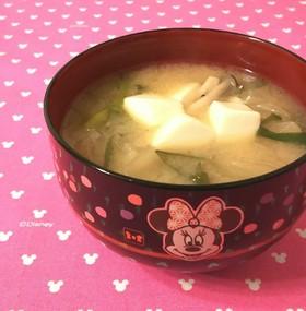 ☆玉ねぎとニラのお味噌汁☆