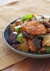 ごま香る♪夏野菜と鶏肉の中華炒め