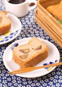 栗の渋皮煮in濃厚♡マロンチーズケーキ