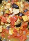 冷凍厚揚げとトマトの炒め煮