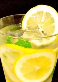 夏に飲みたい!*レモンスカッシュ*