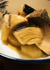 ブリ大根●ブリの切り身と大根の甘煮