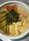 ふき&筍&わらびの炒め煮