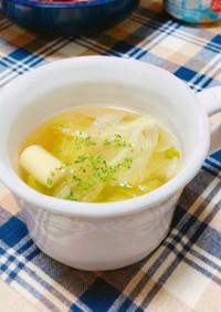 たけのことレタスのスープ