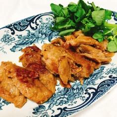 大豆ミートの生姜焼き