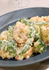 海老とブロッコリーのヘルシーチーズサラダ