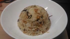 納豆塩昆布炒飯