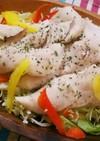 ポリ袋湯煎♥鶏ササミでサラダチキン風