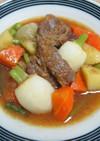 春のナヴァラン(仔羊肉と春野菜の煮込み)